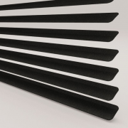 Hammered Black Perfect Fit Venetian Blind