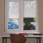 Matte White Perfect Fit Venetian Blind