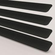 Black Perforated Perfect Fit Venetian Blind