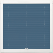 Indigo Perfect Fit Pleated Blind