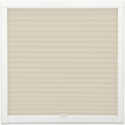 Ivory Perfect Fit Pleated Blind