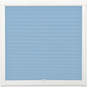 Pale Blue Perfect Fit Pleated Blind