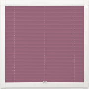 Purple Perfect Fit Pleated Blind