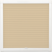 Sand Perfect Fit Pleated Blind