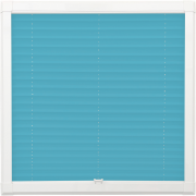 Teal Perfect Fit Pleated Blind