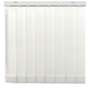 White Blackout Vertical Blind