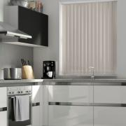 Stone Grey Blackout Vertical Blind - FR