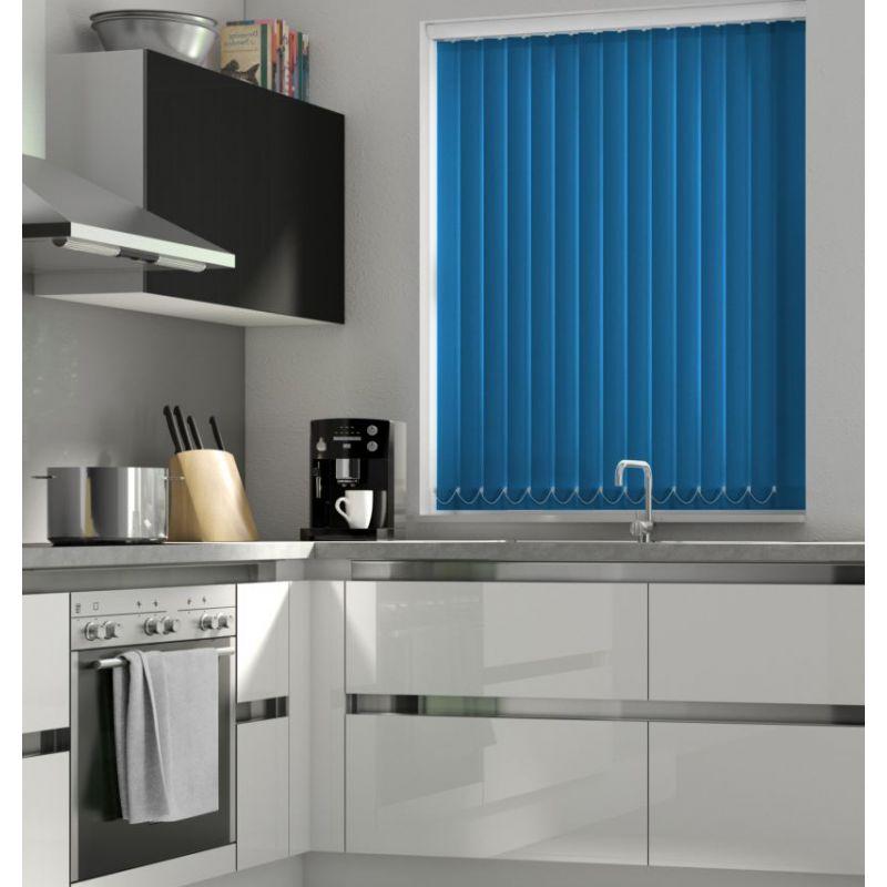 Atlantic Blue Vertical Blind - FR