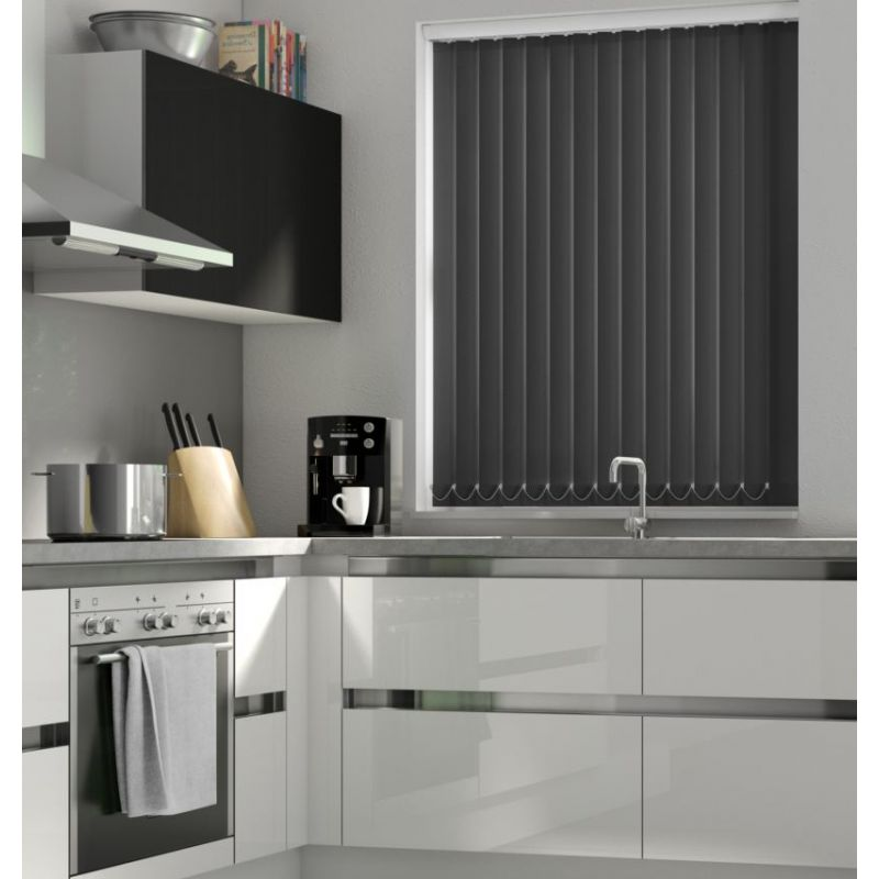 Black Vertical Blind - FR