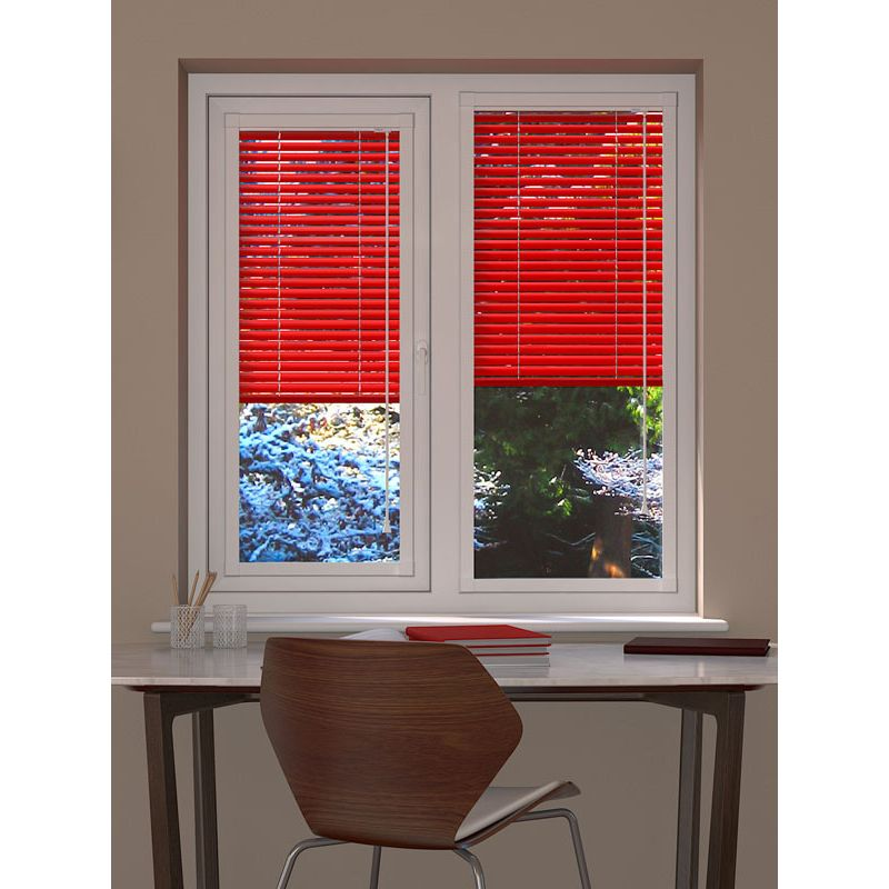Fire Engine Perfect Fit Venetian Blind