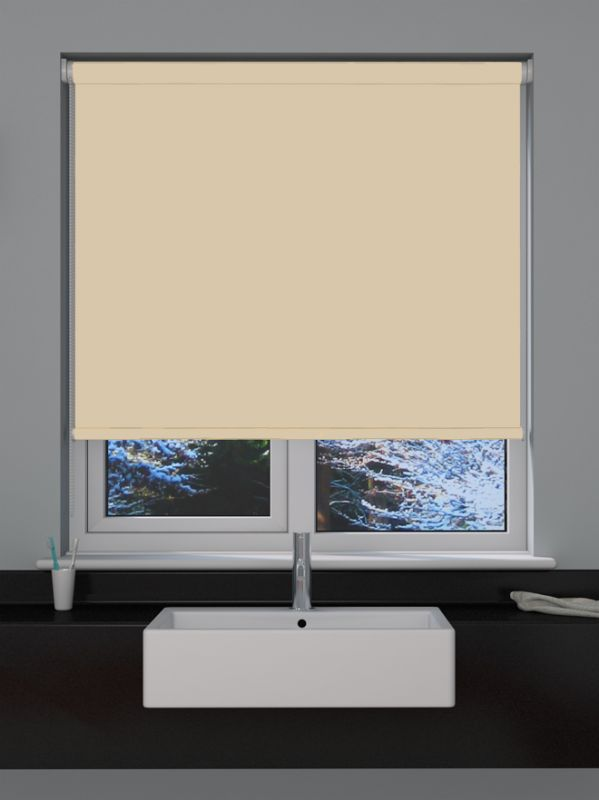 Linen Blackout Roller Blind