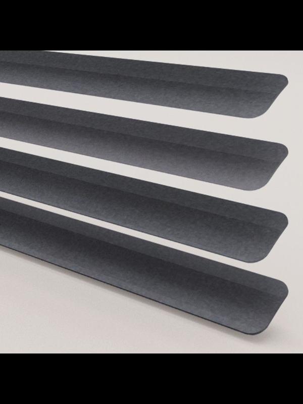 Metallic Dark Grey Perfect Fit Venetian Blind