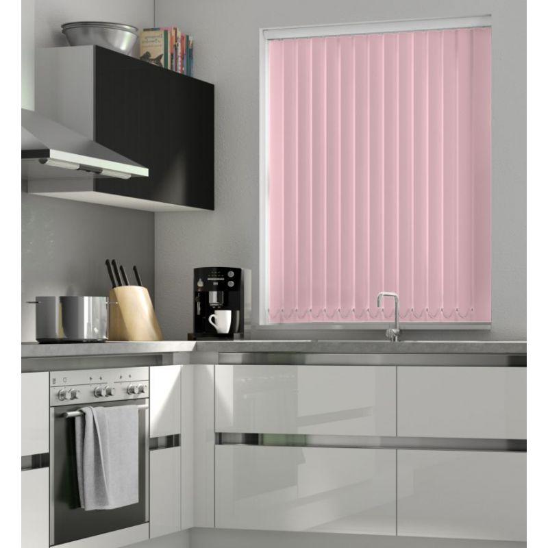 Pink Blackout Vertical Blind -FR