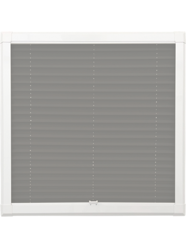 Concrete Perfect Fit Pleated Blind