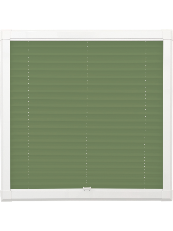 Forest Green Perfect Fit Pleated Blind