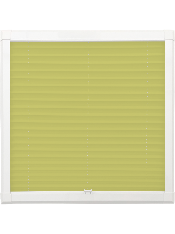 Lime Green Perfect Fit Pleated Blind