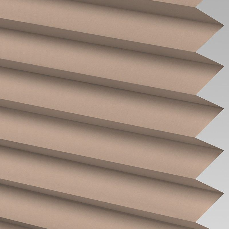 Taupe Perfect Fit Pleated Blind