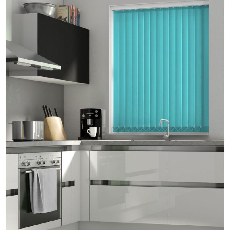 Teal Vertical Blind - FR