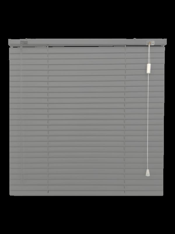 Perforated Black Venetian Blind