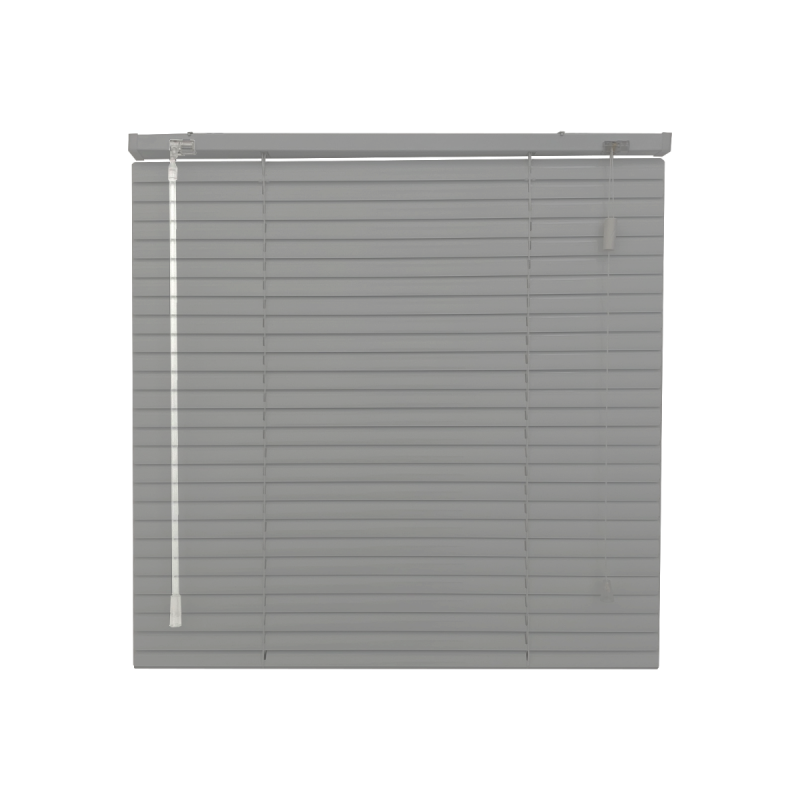 Brushed Steel Venetian Blind