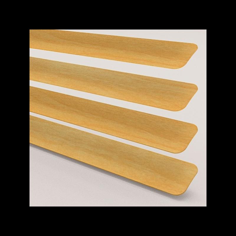 Wood Effect Beech Venetian Blind