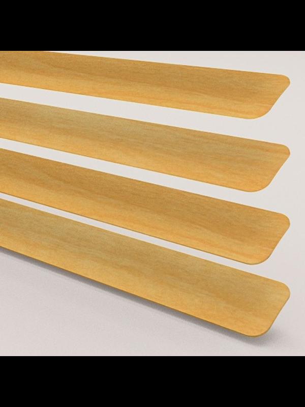 Wood Effect Beech Perfect Fit Venetian Blind