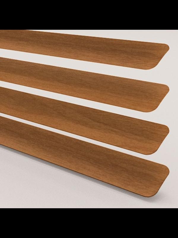 Wood Effect Teak Venetian Blind