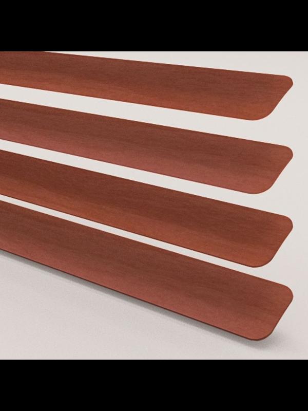 Wood Effect Walnut Perfect Fit Venetian Blind