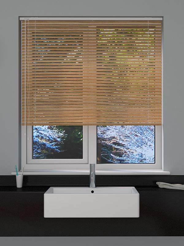 Wood Effect Pine Venetian Blind