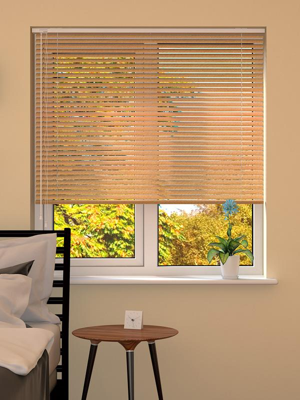 Wood Effect Beech Venetian Blind