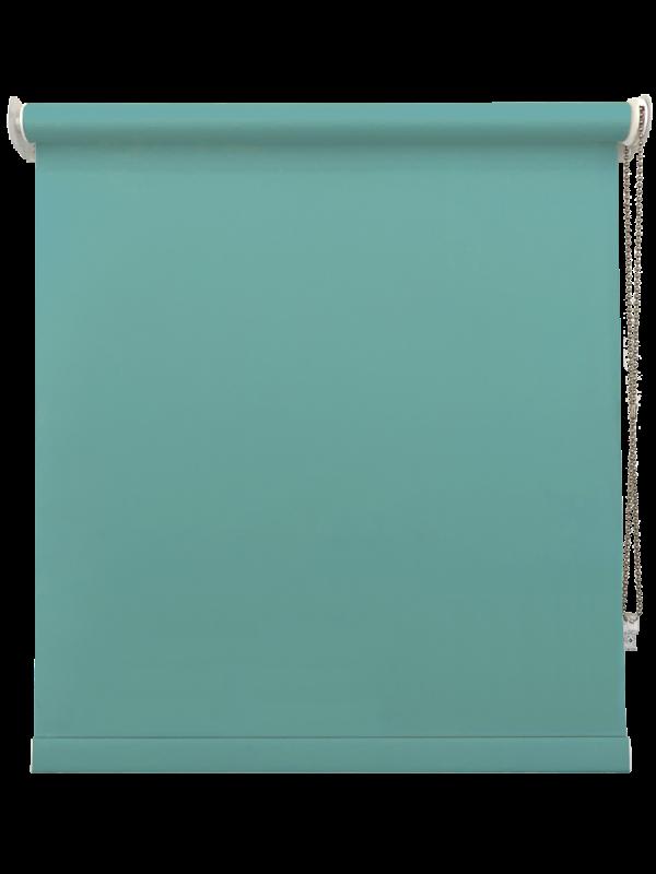 Turquoise Blackout Roller Blind
