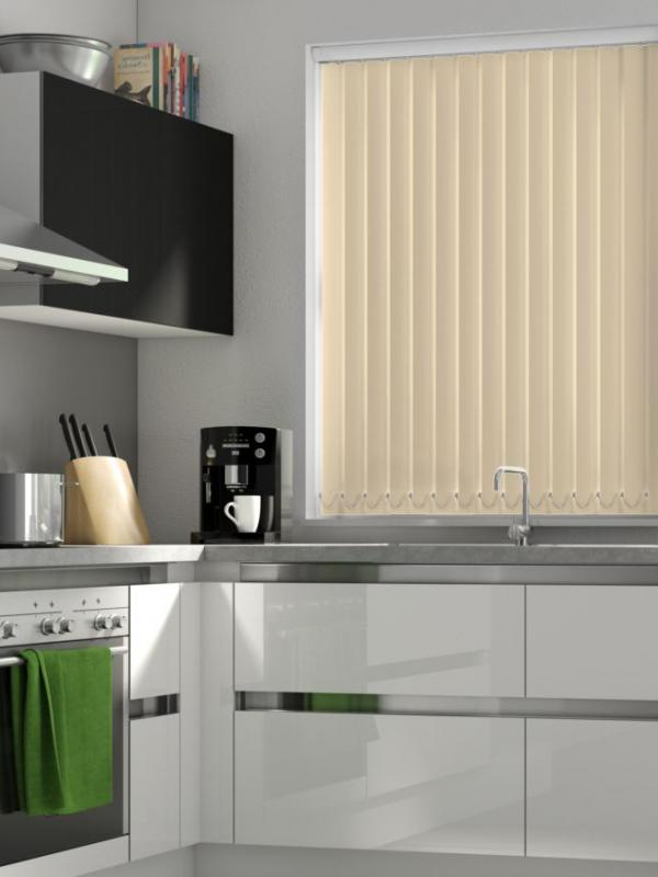 Linen Blackout Vertical Blind - FR