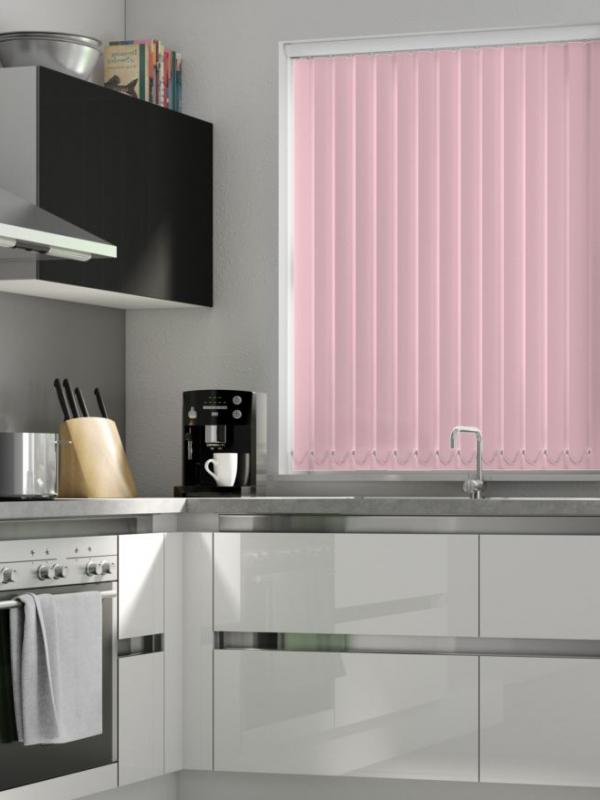 Pink Blackout Vertical Blind -FR
