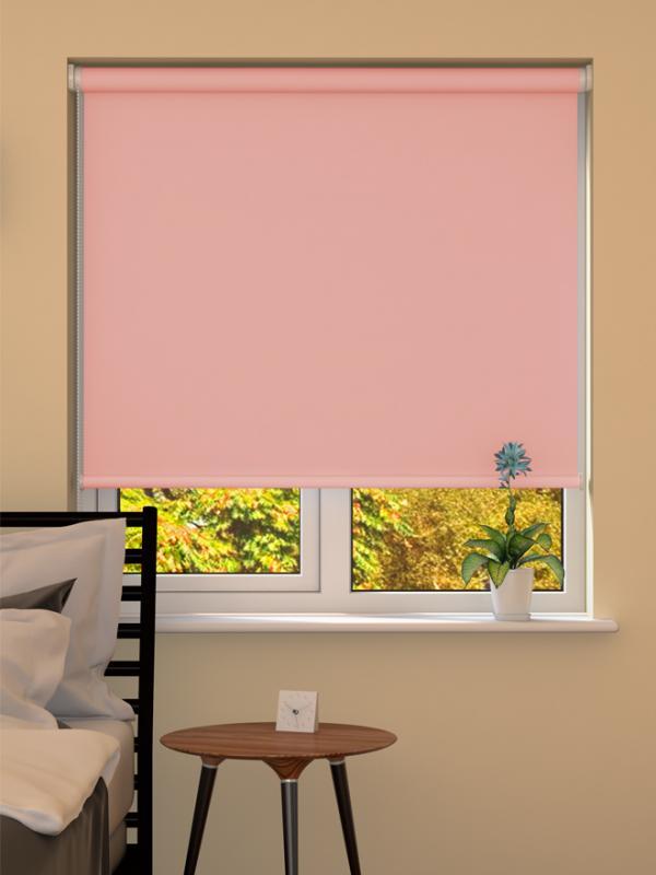 Pink Blackout Roller Blind