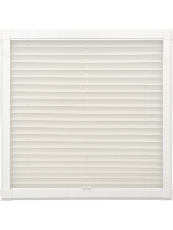 White Perfect Fit Pleated Blind