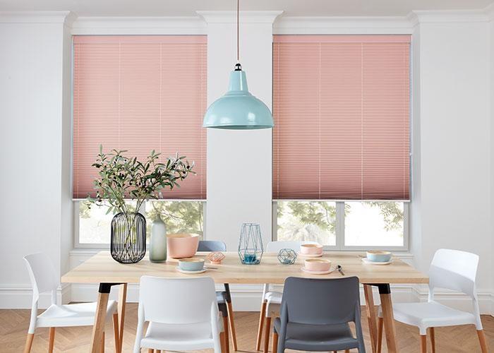 Dining room Venetian blinds
